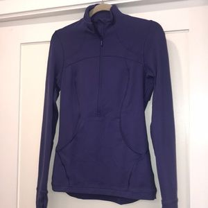 Lulu lemon 3/4 zip sweater